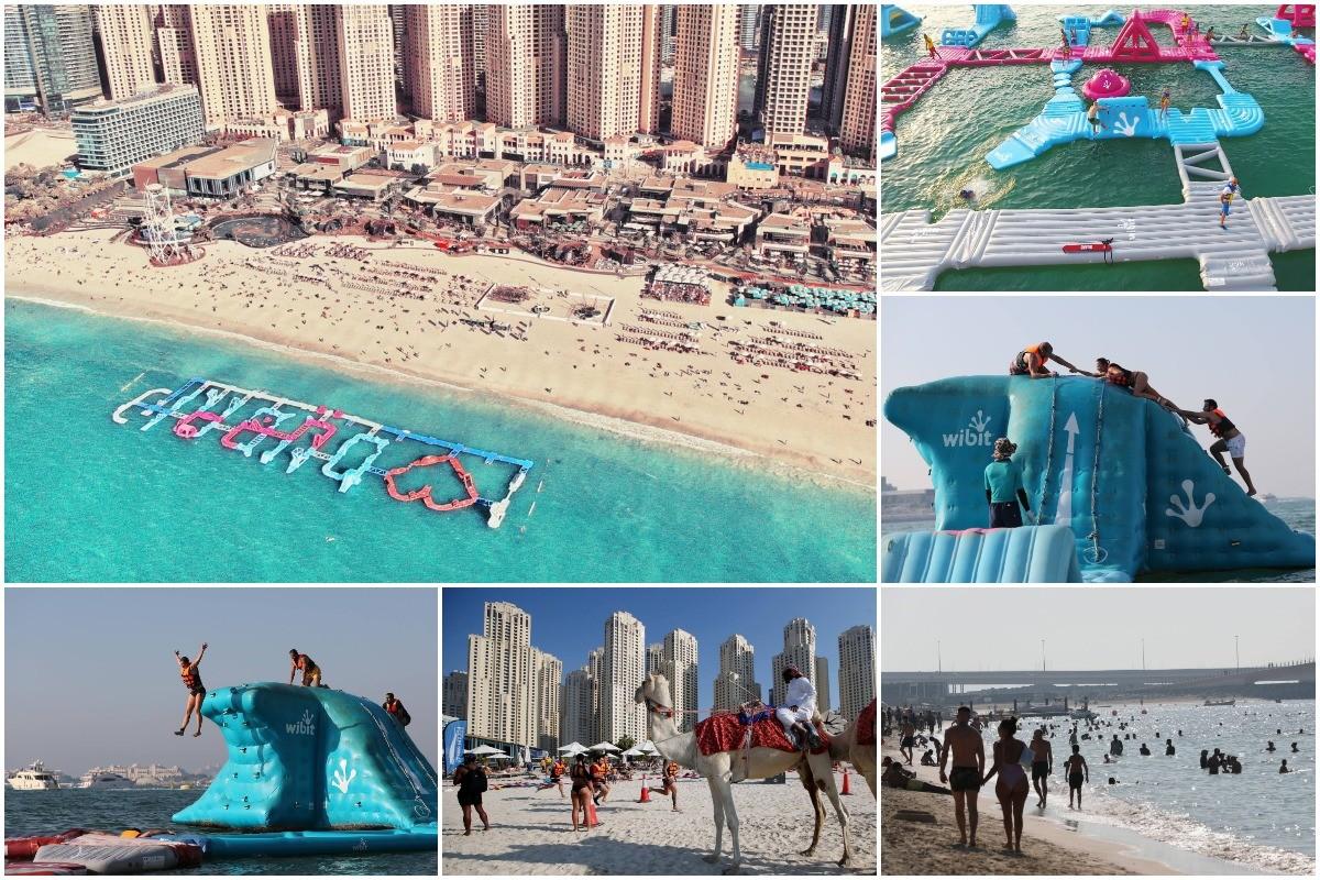 Aqua Challenge в Дубае (23 фото)