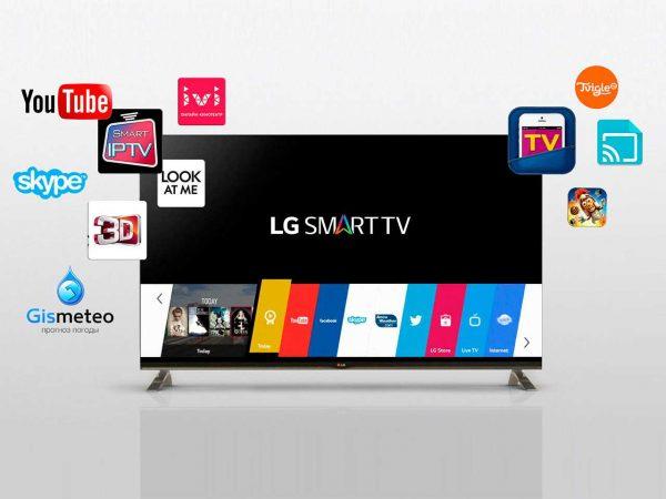 Большой выбор качественных Смарт-ТВ от LG