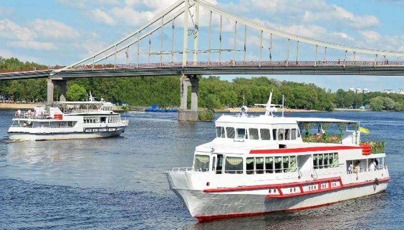 Аренда катеров, яхт и теплоходов в Киеве