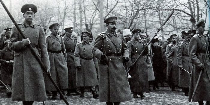 Известные лидеры Белого и Красного движения