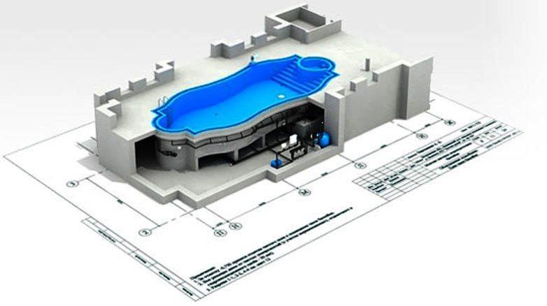 Проектирование бассейнов любой сложности и размеров
