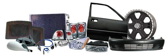 Широкий ассортимент кузовных деталей, автомобильной оптики и аксессуаров