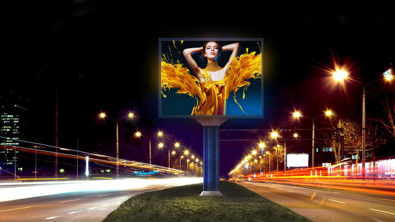 Заказать качественный светодиодный рекламный экран