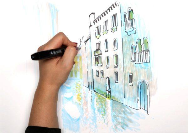 Онлайн школа рисования для взрослых