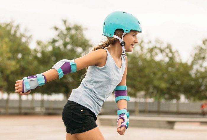 Особенности женской защиты для роликов