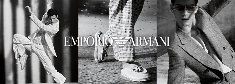 Эксклюзивные вещи из коллекции этого года от Emporio Armani