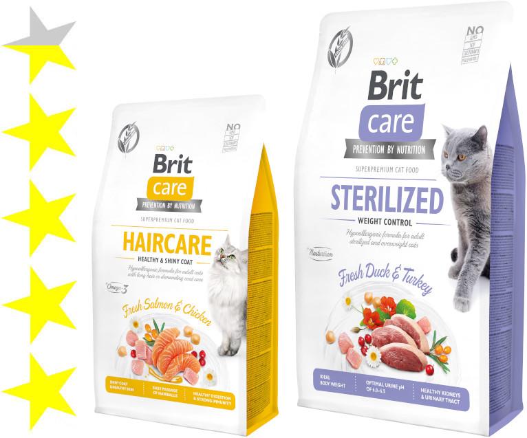 Полезный сухой корм для кошек и котов