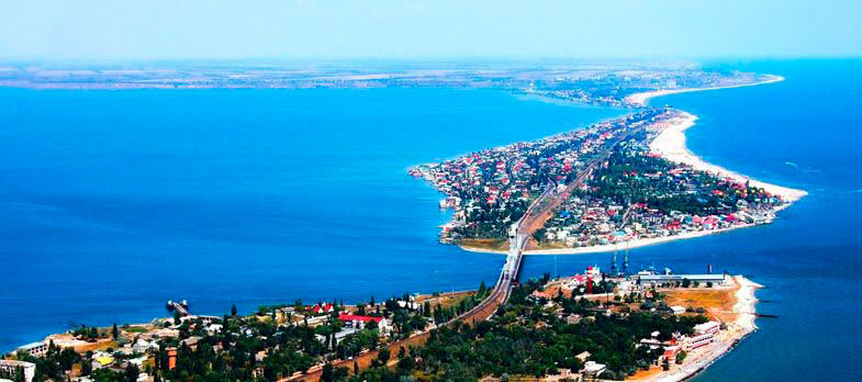 Курорт Затока на берегу Чёрного моря под Одессой