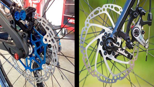 Качественные велосипедные гидравлические тормоза от разных брендов