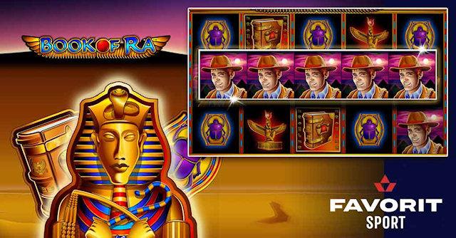 Проверенный временем онлайн слот Book of Ra