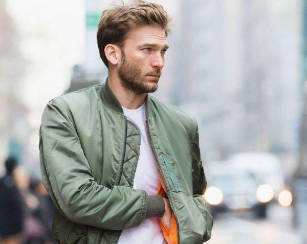 Каталог осенних мужских курток из разных материалов